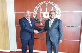 وزير خارجية جيبوتي يستقبل السفير المصري الجديد لتسليم أوراق اعتماده | صور