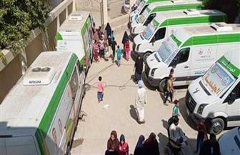 فحص 7832 مريضا في قافلة بالوادي الجديد