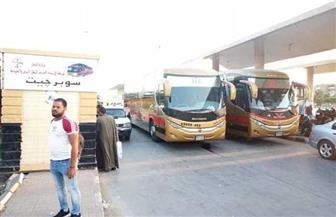 تشغيل أتوبيسات فى خطين بالمجان بمدينة بدر.. وتوفير أتوبيسات 26 راكبا من موقف السلام