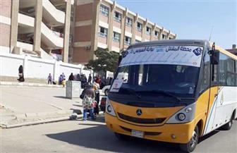 استحداث 4 خطوط سير نقل جماعي لخدمة طلاب المدارس بمدينة الشروق | صور