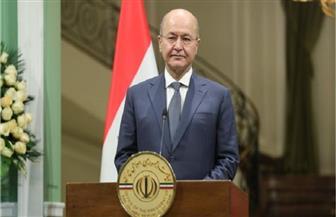 الرئيس العراقي يدعو إلى حوار وطني بين جميع المكونات السياسية.. وإجراء تعديل وزاري