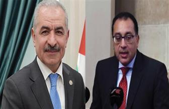 رئيس الوزراء يستقبل نظيره الفلسطيني بمطار القاهرة