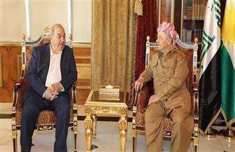 بارزاني وعلاوي يؤكدان رفضهما أي تغيير بالعراق خارج الإطار الدستوري