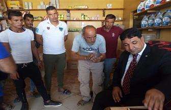 رئيس مجلس مدينة العريش يتفقد الموقف الجديد.. ويستمع لشكوى المواطنين|صور