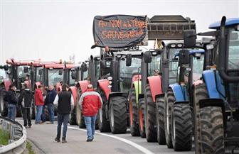 مظاهرة بالجرارات تعطل الطرق السريعة بستراسبورج شرق فرنسا | صور