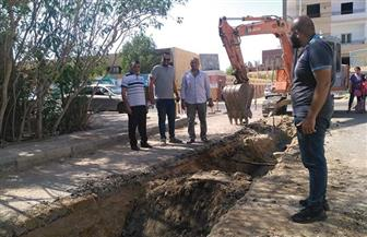 4 ملايين جنيه لإحلال وتجديد شبكة مياه حي مجاهد بالغردقة | صور