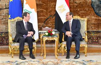 الرئيس السيسي يشيد بالتطور والتقارب المستمر في العلاقات الثنائية بين مصر وقبرص
