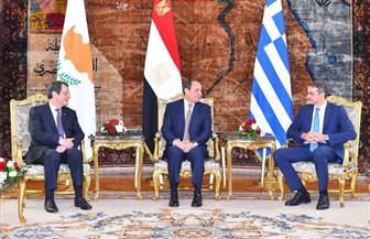 تبادل منفعة وتلبية احتياج إستراتيجى للطاقة.. أبرز ما حققته القمة الثلاثية بين مصر وقبرص واليونان | صور