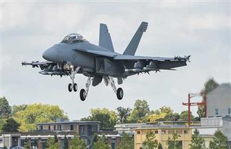 تحطم طائرة حربية أمريكية في ألمانيا من طراز ِإف - 16