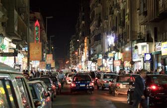 كثافات مرورية متوسطة بشوارع العاصمة في الذروة المسائية