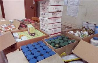"""تموين الفيوم: إعدام 14 ألف عبوة أدوية بيطرية منتهية الصلاحية بـ""""كوم أوشيم"""""""