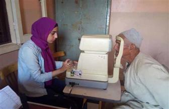 الكشف على 250 مواطنا في قافلة طبية للعيون بمركز بسيون في الغربية | صور