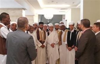 مرصد الأزهر يستقبل وفدًا من أئمة ليبيا | صور