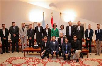 مكتبة الإسكندرية تفتتح مؤتمر البحر المتوسط للمواصلات الخضراء والاستدامة |صور