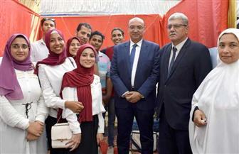 افتتاح مهرجان الأسر الطلابية بجامعة المنصورة |صور