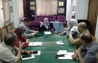 وكيلة وزارة التعليم بكفر الشيخ تؤكد سلامة التغذية المقدمة للطلاب بالمدارس |صور