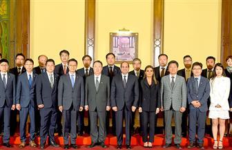 الرئيس السيسي يستقبل وفدا رفيع المستوى من المستثمرين ورجال الأعمال الكوريين| صور