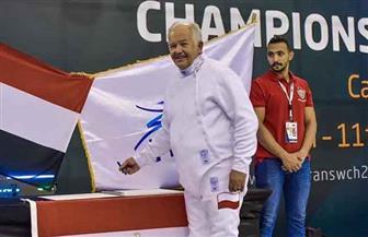 ضيوف مصر يسجلون إشاداتهم في دفتر تشريفة بطولة العالم لرواد السلاح   صور