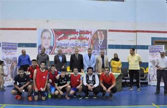 دسوقي يشهد ختام أنشطة المهرجان الرياضي لاستقبال الطلاب الجدد بجامعة كفر الشيخ | صور