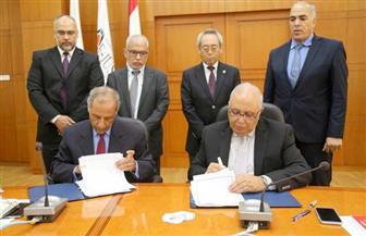 الجامعة المصرية - اليابانية توقع بروتوكول تعاون مع وكالة الفضاء المصرية | صور