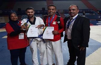 مؤمن عباس يفوز ببرونزية بطولة أوروبا للباراتايكوندو