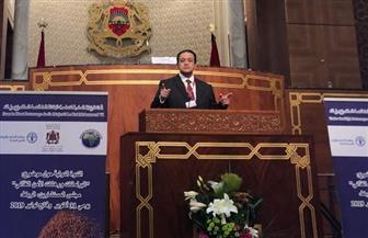علاء عابد يلتقي رئيسة البرلمان الدولي | صور