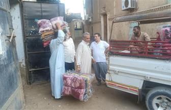«مستقبل وطن» يوزع 500 بطانية على الأسر الأولى بالرعاية بمركز مطاي في المنيا | صور