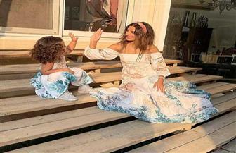 ريهام أيمن تبهر السوشيال ميديا بأحدث جلسة تصوير برفقة ابنتها   صور