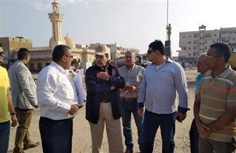 محافظ شمال سيناء يتفقد شوارع وميادين العريش | صور