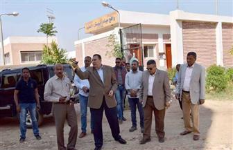 سكرتير محافظة الأقصر يتفقد مشروع صرف صحي الطود الجديدة | صور