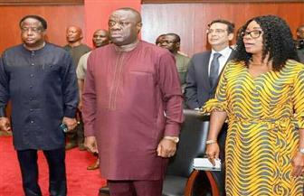 """سفير مصر لدى غانا يشارك في فعاليات """"البرنامج الرئاسي الثاني لدعم الأعمال"""" في العاصمة أكرا"""