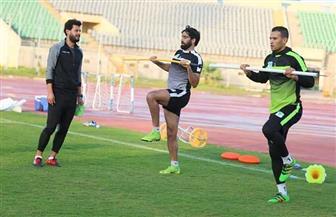 ثنائي المصري يواصل البرنامج التأهيلي قبل استئناف الدوري الممتاز