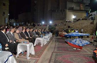 محافظ أسيوط يشهد احتفالية مديرية الثقافة بالمولد النبوي في قناطر المجذوب| صور