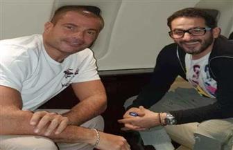 """أحمد حلمي برفقة عمرو دياب: """"حبيب الملايين وأولهم أنا"""""""