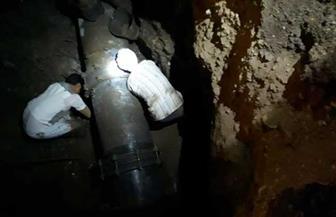 مياه سوهاج: انتهاء إصلاح خط مركز دار السلام وإعادة الضخ للمواطنين