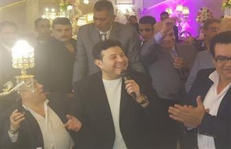 هاني شاكر يفتتح تجديدات نادي المهن الموسيقية بالدقهلية| صور