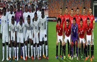 موعد مباراة مصر وغانا بأمم إفريقيا تحت 23 عاما والقنوات الناقلة