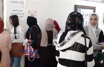 انتخابات الإعادة بجميع فرق كلية البنات جامعة عين شمس | صور