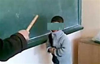 """ربة منزل تحرر محضرا ضد مدرس لتعديه بالضرب على نجلها مستخدما """"خرطوم"""" بمدرسة بالقليوبية"""