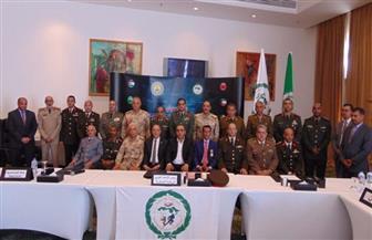 بدء اجتماعات المكتب التنفيذي للاتحاد العربي للرياضة العسكرية | صور
