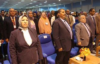 انطلاق المؤتمر الدولي الثامن بآداب جنوب الوادي بمشاركة 50 باحثا عربيا وإفريقيا | صور