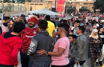 أمم إفريقيا 23 سنة.. الجماهير تتوافد على ستاد القاهرة لحضور مباراة مالي والكاميرون | صور