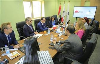 الأكاديمية الوطنية للتدريب تستقبل السفير الفرنسي بالقاهرة لبحث سبل التعاون | صور