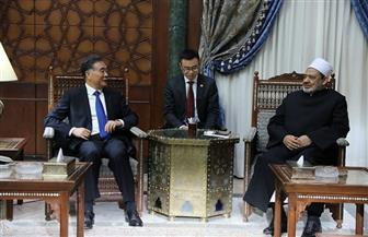 رئيس المجلس الاستشاري الصيني: عند عودتي للصين سأحرص على توضيح صورة الإسلام التي عرفتها من الإمام الأكبر