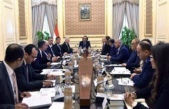 """رئيس الوزراء يلتقي وفد شركة """"فولكس فاجن"""" الألمانية لبحث فرص الاستثمار في مصر"""