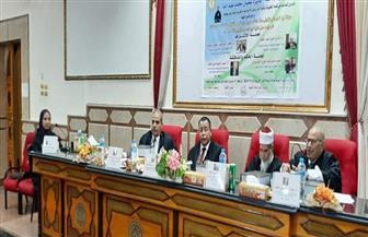 رئيس جامعة الأزهر يناقش رسالة دكتوراة في اللغويات بين النجراني وابن داود اليمني