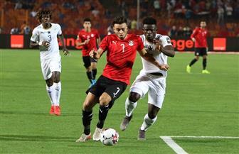 مصر تتعادل أمام غانا في شوط أول مثير بأمم إفريقيا تحت 23 عاما