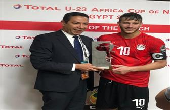 رمضان صبحي رجل مباراة مصر وغانا بأمم إفريقيا تحت 23 عاما