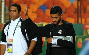 """معتمد جمال يشيد بمجهود لاعبي """"الأوليمبي"""" خلال مباراة غانا"""