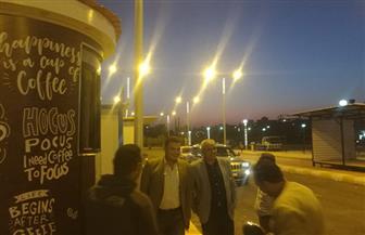 مساعد نائب رئيس المجتمعات العمرانية الجديدة يتفقد مشروعات مدينة 6 أكتوبر